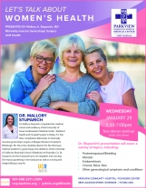 Let's Talk About Women's Health Dinner Seminar